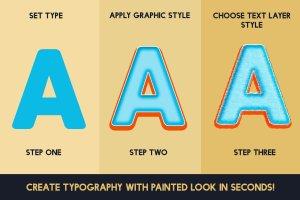 油画风格明信片效果图层样式 Postcard Shop for Adobe Photoshop插图6