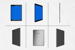 手机APP应用&移动网站iPad Pro样机套件 iPad Pro kit插图3
