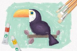 高品质油画质感AI画笔笔刷 Outstanding Oil Paint Brushes插图5