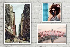 油画风格明信片效果图层样式 Postcard Shop for Adobe Photoshop插图7