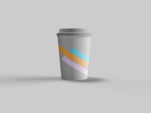 咖啡纸杯定制设计图样机模板 Coffee Cup Mockup插图2