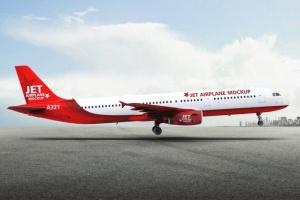 空客A321空中巴士中短程客机样机 Jet Airplane A321 Mock-Up插图7