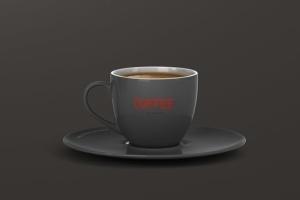 逼真咖啡杯马克杯样机模板 Coffee Cup Mockup插图2
