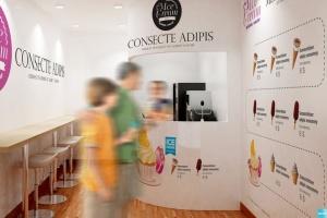雪糕咖啡店铺品牌样机模板 Ice Cream – Coffee Branding Mockups插图4