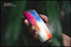10款手持真实iPhone X设备展示样机模板 10 Authentic iPhone X Mockups插图3