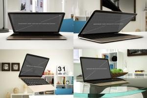 12款Macbook笔记本电脑设备样机 Laptop Mockup – 12 Poses插图4