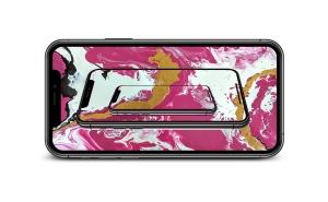 超高清分辨率iPhone Pro Max手机屏幕预览样机模板 Phone 11 Pro Layered PSD Mock-ups插图5