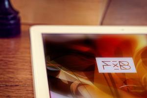 iPad Air平板电脑局部特写样机模板 iPad Air 2 Mockup插图1