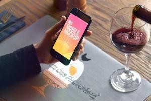 实景iPhone展示样机模板合集 Mobile Mockup Living Photos插图9