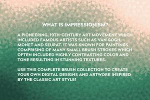 令人难以置信印象派点画绘画效果AI画笔笔刷 Incredible Impressionism | Brushes插图(2)