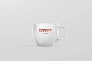 逼真咖啡杯马克杯样机模板 Coffee Cup Mockup插图5