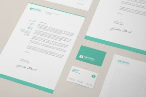 企业品牌办公文具等距样机模板 Branding / Identity Mock-up插图6