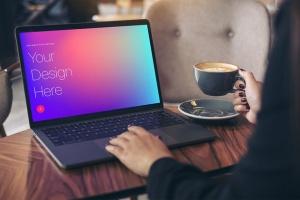 高雅干净利落笔记本电脑MacBook Pro样机 Elegant & Clean Macbook Pro Mockups插图11