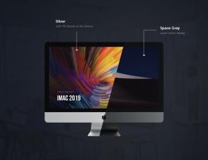 2019款iMac电脑一体机样机模板 iMac 2019 Mockup插图2
