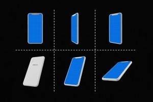 极简主义 iPhone X 样机模板 Minimal iPhone Mockup插图4