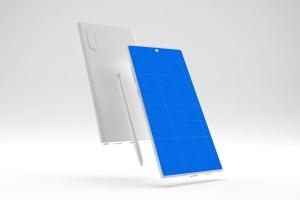 简约风格三星Note 10智能手机样机模板 Clean Note 10 Mockup插图10