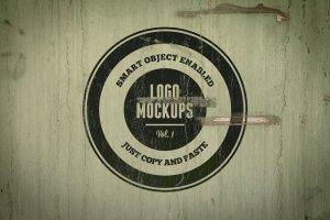 复古风格Logo样机模板v1 Vintage Logo Mockups Volume 1插图2