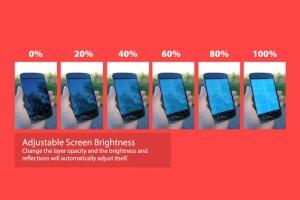 真实场景的手持安卓手机设备样机 12 Realistic Android Mockups插图4