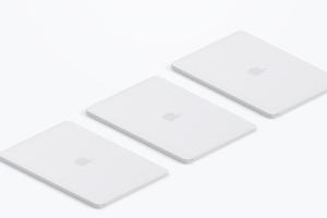陶瓷材质MacBook笔记本电脑等距右视图样机03 Clay MacBook Mockup, Isometric Right View 03插图3