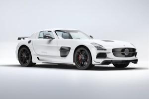 超级豪华跑车梅赛德斯SLS AMG样机模板 Supercar Mercedes SLS AMG Mock-Up插图10