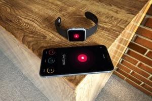 Apple智能手表&iPhone Xs手机样机模板 Apple Watch & iPhone XS插图4