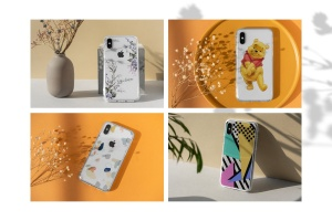 iPhone手机透明保护壳外观设计样机模板 iPhone Clear Case Mock-Up's插图3