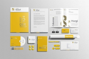 企业品牌VI办公用品样机设计模板V3 Branding-Stationery Mockups V3插图8