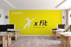 办公室墙纸设计样机模板合集 OFFICE Interior Wall Mockup Bundle插图16