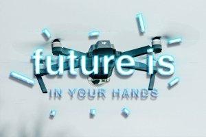 炫酷平滑3D高科技效果PS字体样式 TECHNOLOGY TEXT EFFECT插图8