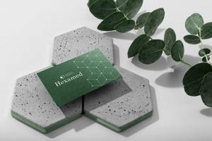 六边形图形设计品牌VI视觉设计效果图样机套件v2 Hexamed Branding Mockup插图5