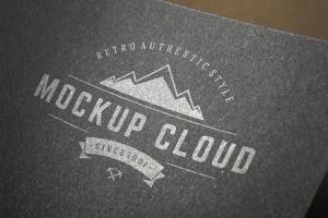 徽标Logo印刷效果展示样机合集 Logo Mockup Set插图2
