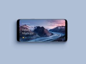 超级主流桌面&移动设备样机系列:Samsung Galaxy S9  三星智能手机样机 [兼容PS,Sketch;共2.11GB]插图8