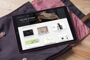 简约风办公桌场景iPad Pro平板电脑样机v2 IPad Pro Mockups V2插图4