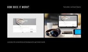高品质的电子产品APP UI WEB网站展示VI样机展示模型mockups插图4