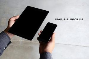 iPhone/iPad响应式设计展示设备样机 iPad iPhone Macbook Responsive Mock-Up Bundle插图13