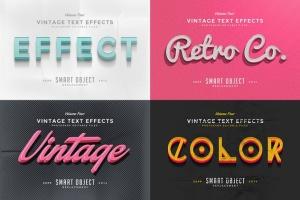 经典复古文本图层样式v4 Vintage Text Effects Vol.4插图3