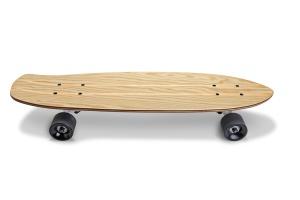 滑板顶部设计正面预览图样机02 Skate_Board-02_Mockup插图4