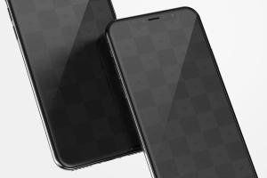 iPhone X手机应用UI界面预览样机01 iPhone X Mockup 01插图2