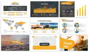 旅游公司&旅行社服务介绍Keynote幻灯片模板 Exploid – Travel Keynote Template插图4