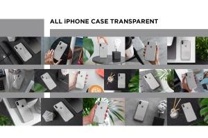 iPhone Xs透明手机壳外观设计效果图样机v2 iPhone Xs Clear Case Mock-Up vol.2插图12