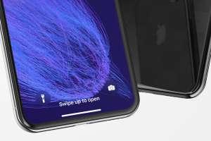iPhone X手机界面设计效果图预览样机02 iPhone X Mockup 02插图2