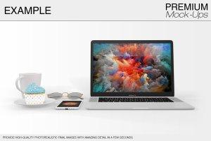 苹果MacBook Pro笔记本电脑样机展示模型mockups插图16