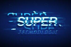 炫酷平滑3D高科技效果PS字体样式 TECHNOLOGY TEXT EFFECT插图3