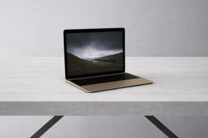 高品质的笔记本电脑设备展示样机 Laptop Mock-Up插图3