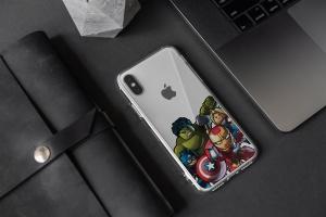 iPhone Xs透明手机壳外观设计效果图样机v2 iPhone Xs Clear Case Mock-Up vol.2插图5
