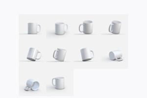 图案印花马克杯样机模板v2 Mug MockUp vol.2插图8