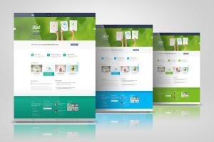 网站/网页设计效果图样机模板 Web Pages Presentation Mock Up插图7