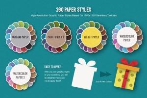 可爱剪纸艺术插画AI设计素材 Paper Kingdom Illustrator Graphic Styles插图5
