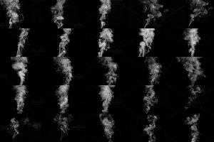 烟雾萦绕效果图层样式 Real Smoke-Fog overlay collection插图3