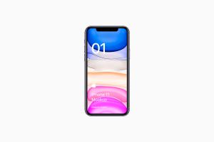 全新iPhone 11手机屏幕界面演示样机模板[PSD格式]插图3